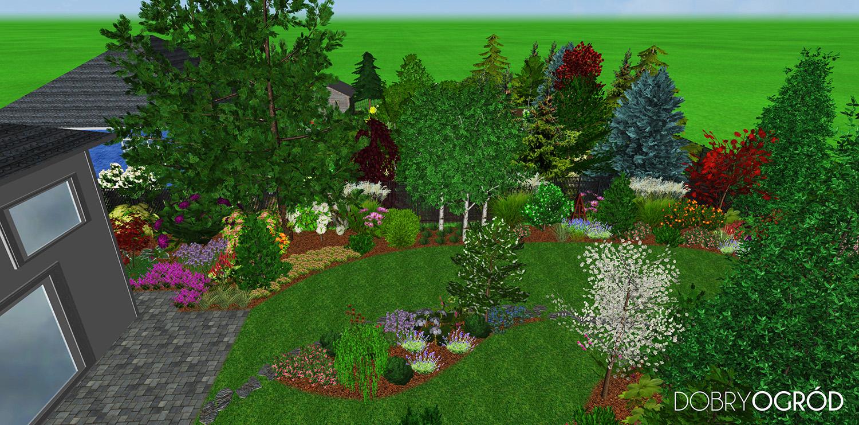 Dobry Ogród Projekt Sosonowa Romanza i Ogród Baby i Jagi