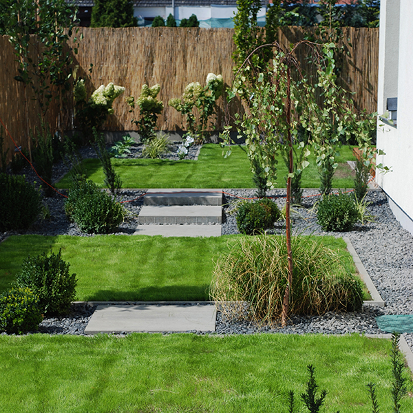 Ogród z barokowym wgłębnikiem