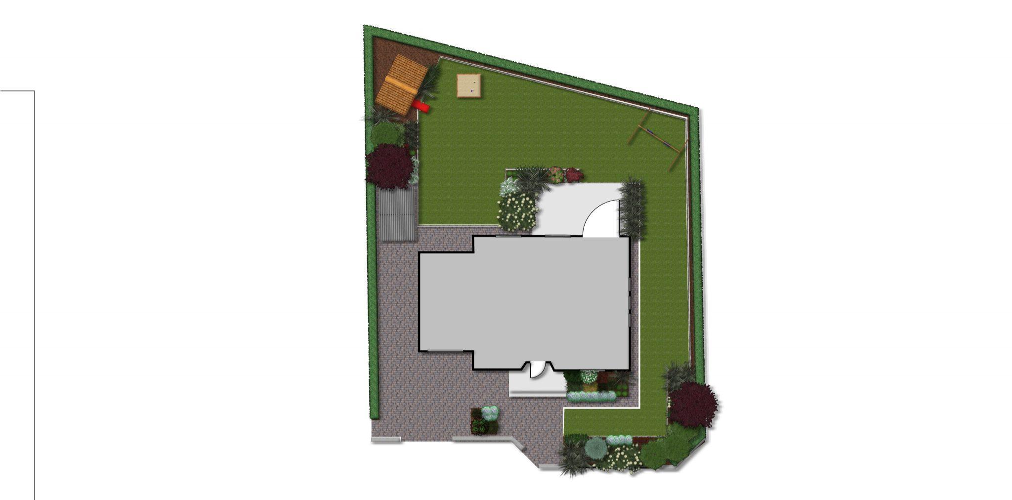 Dobry Ogród Ogród przy stawach projekt